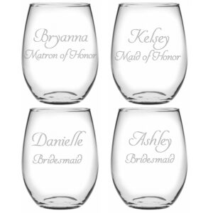 Personalized Bridal Party Set