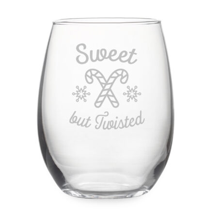 Sweet but Twisted Stemless Wine