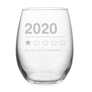 2020 Not Recommended Stemless Wine