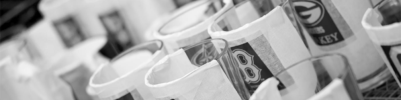 Masked Glassware at Susquehanna Glass Company