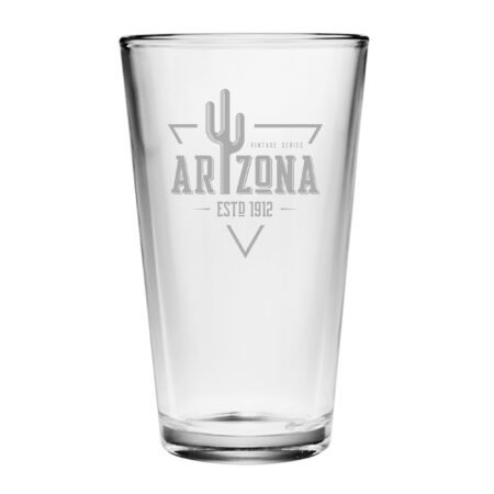 Vintage State Series Arizona Pint