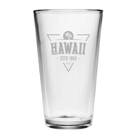Vintage State Series Hawaii Pint