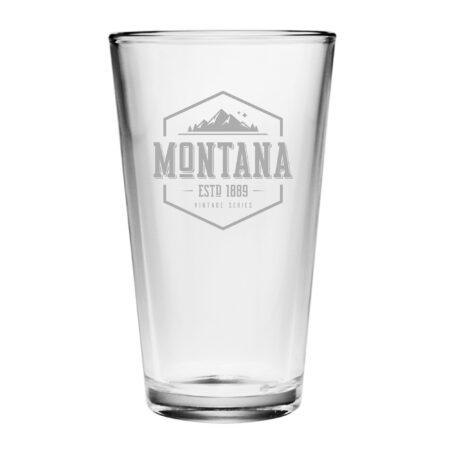 Vintage State Series Montana Pint