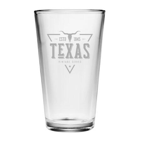 Vintage State Series Texas Pint