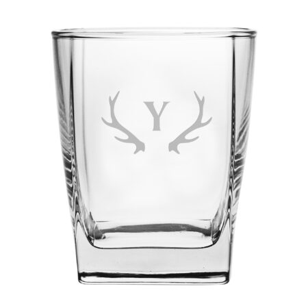 Initial with Antlers DOF