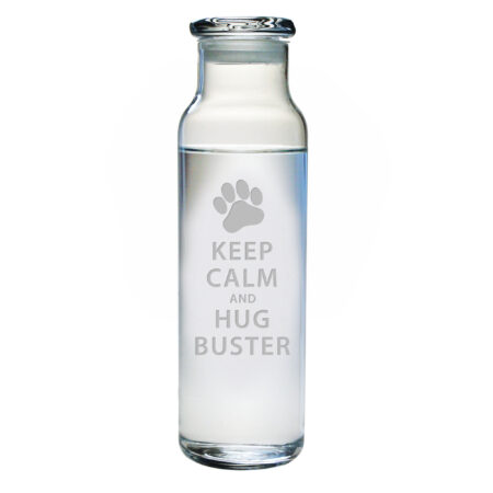 Personalized Keep Calm 24 oz. Carafe