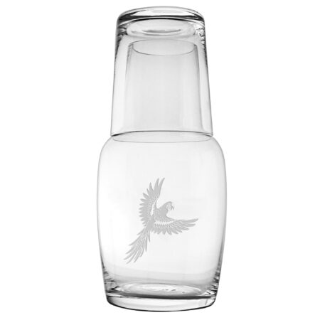 Parrot night bottle and cup set
